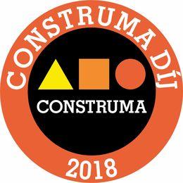 Construm 2018 díj