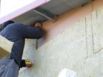 A hangszigetelés tömítettségére a tetőszerkezet alatt külön figyelmet fordítottunk.