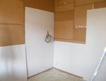 A falakra gipszkarton burkolatot építünk.