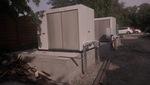 A zaj - tehát a probléma forrása két kültéri hűtőegység volt.