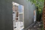 A gépek tisztításához megfelelő nyílást kellett biztosítani, ide került beépítésre az ajtó is.